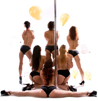 Elle Aime Photography by Leah Marie - Phoenix Aerial Art and Pole Party (8 of 8)